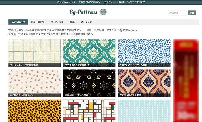 Bg-patterns